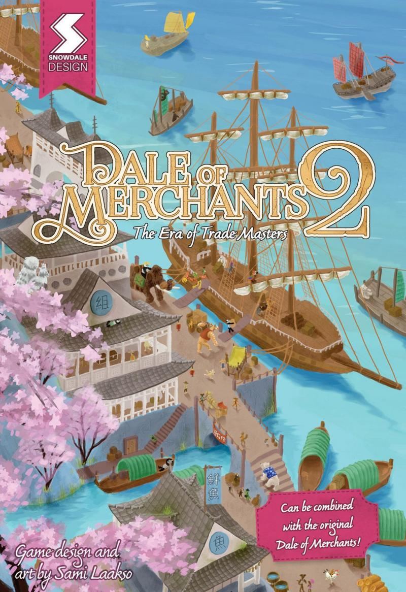 настольная игра Dale of Merchants 2 Долина торговцев 2