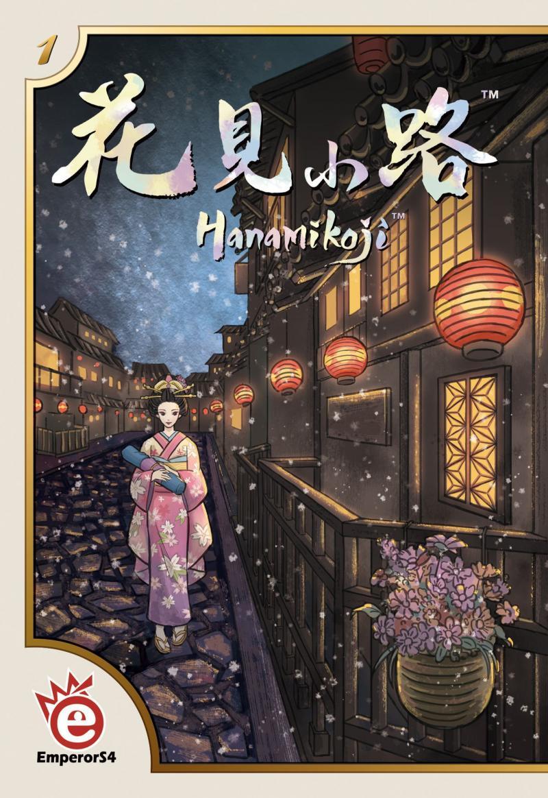 настольная игра Hanamikoji