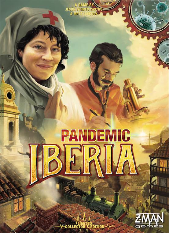 настольная игра Pandemic: Iberia Пандемия: Иберия