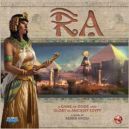 настольная игра Ra