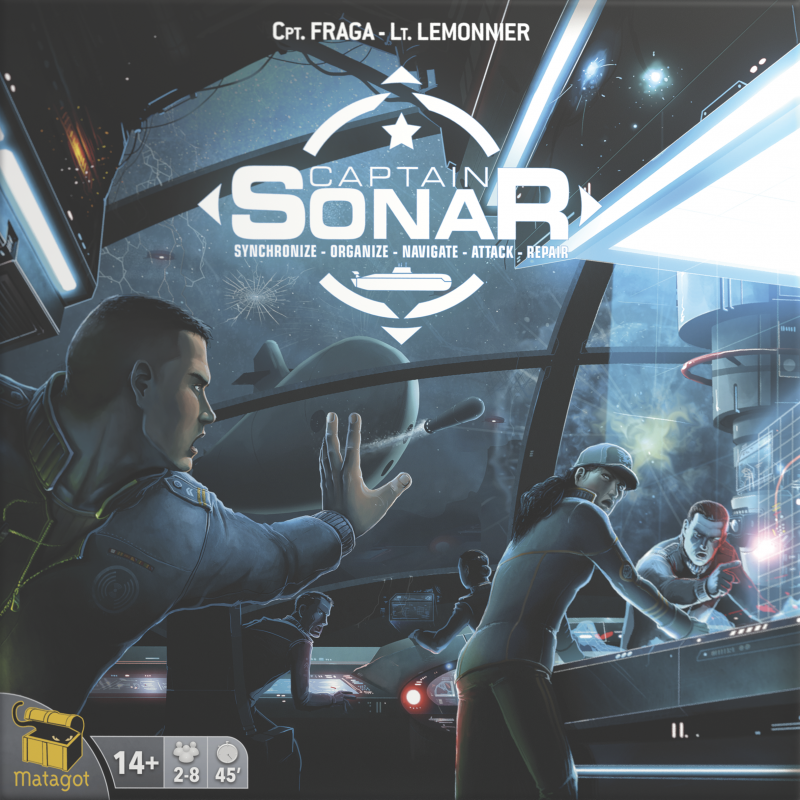 настольная игра Captain Sonar Капитан сонар