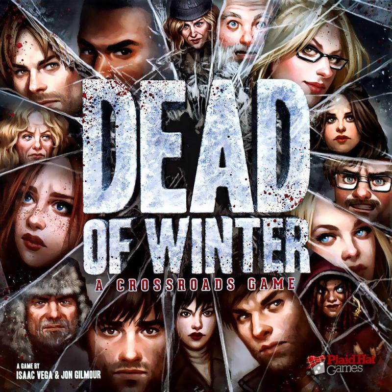 настольная игра Dead of Winter: A Crossroads Game Мертвая зима: игра на перекрестке