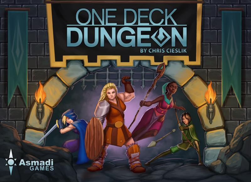 настольная игра One Deck Dungeon Одноэтажное Подземелье