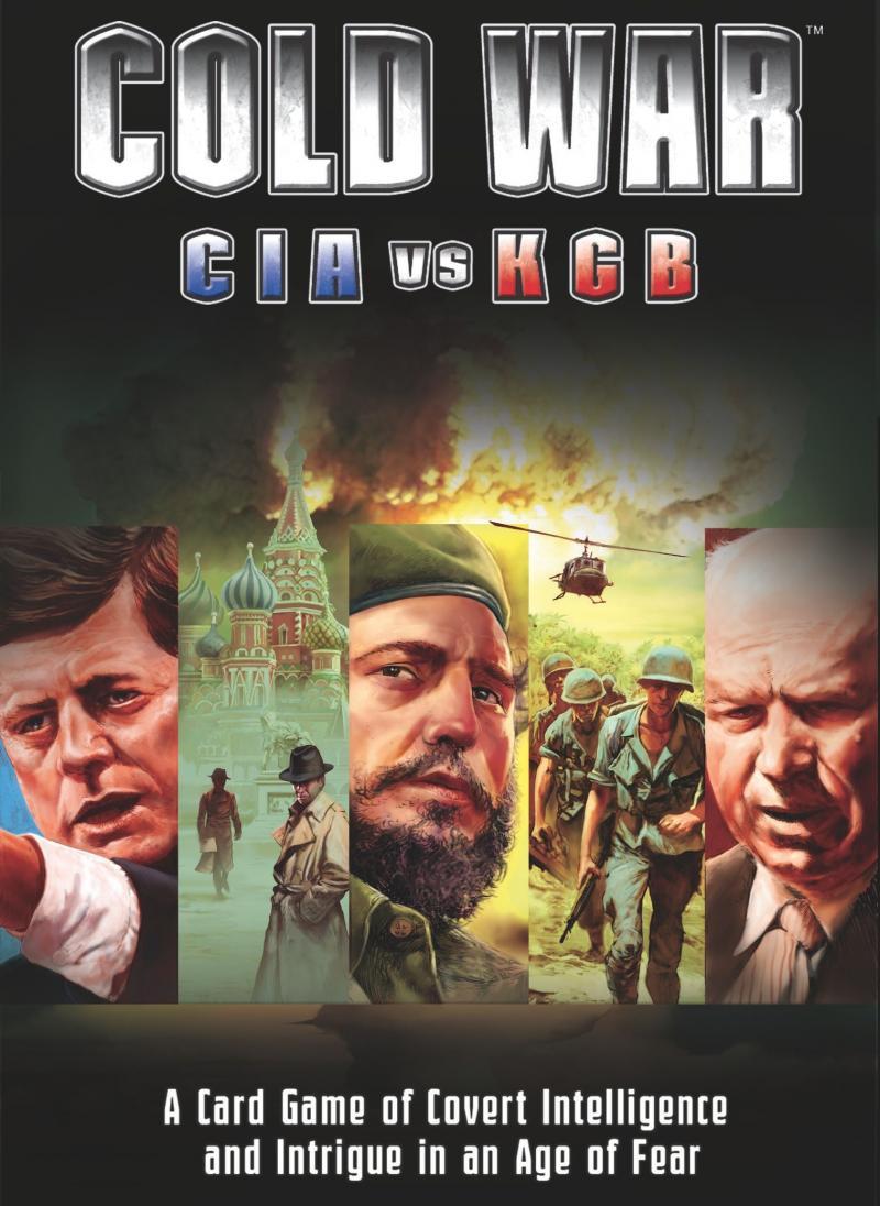 настольная игра Cold War: CIA vs KGB Холодная война: ЦРУ против КГБ