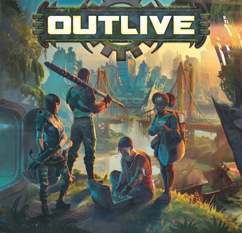 настольная игра Outlive Пережить