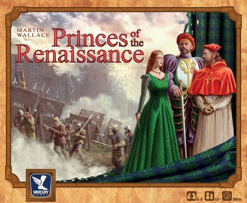 настольная игра Princes of the Renaissance Князья Ренессанса