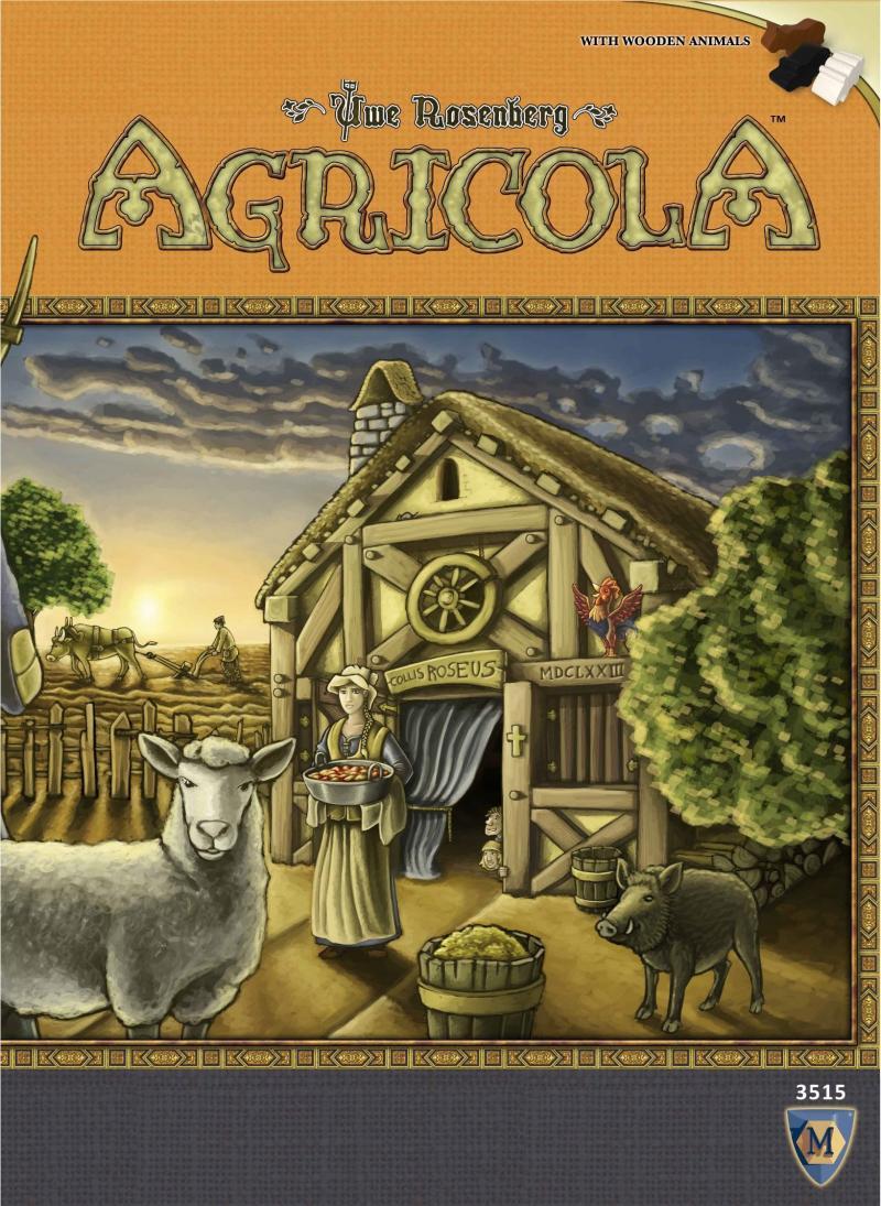 настольная игра Agricola (Revised Edition) Агрикола (пересмотренное издание)