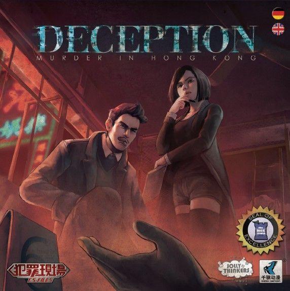 настольная игра Deception: Murder in Hong Kong Обман: убийство в Гонконге