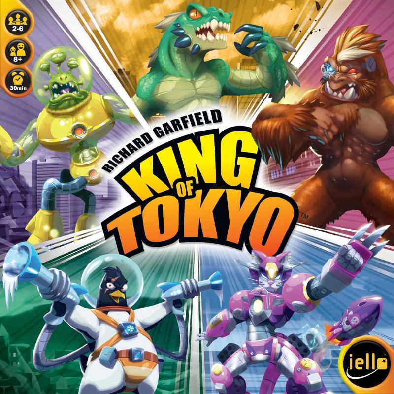 настольная игра King of Tokyo Король токио