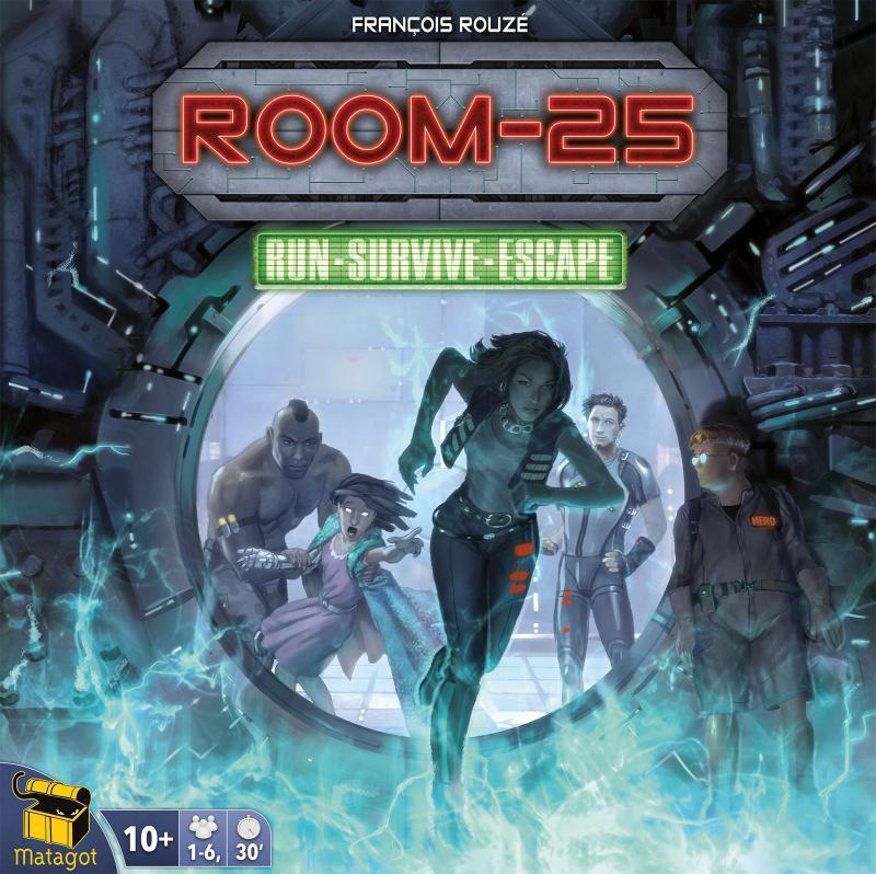 настольная игра Room 25 Комната 25