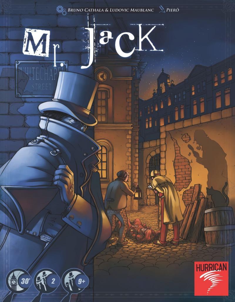 настольная игра Mr. Jack Мистер джек