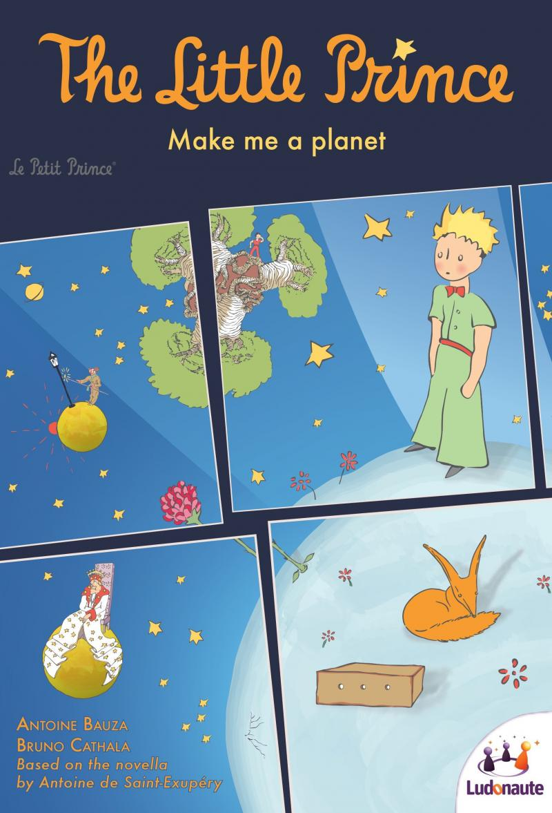 настольная игра The Little Prince: Make Me a Planet Маленький принц: сделай мне планету