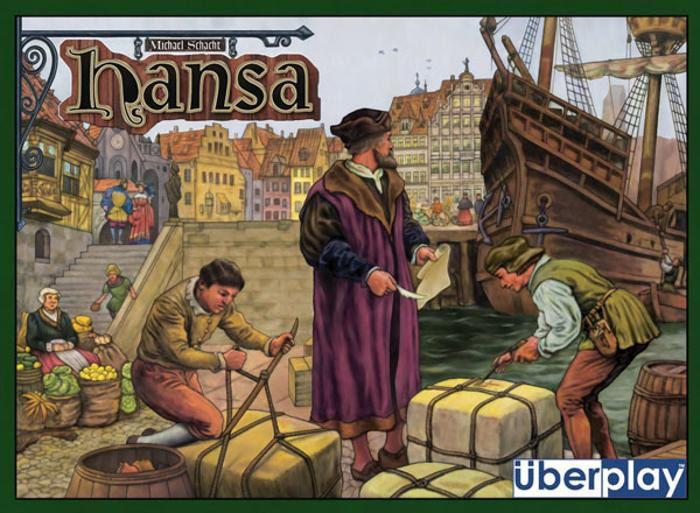 настольная игра Hansa