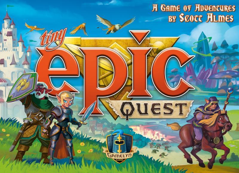 настольная игра Tiny Epic Quest