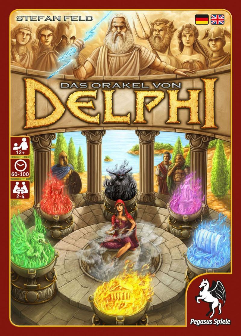 настольная игра The Oracle of Delphi Оракул Дельфи