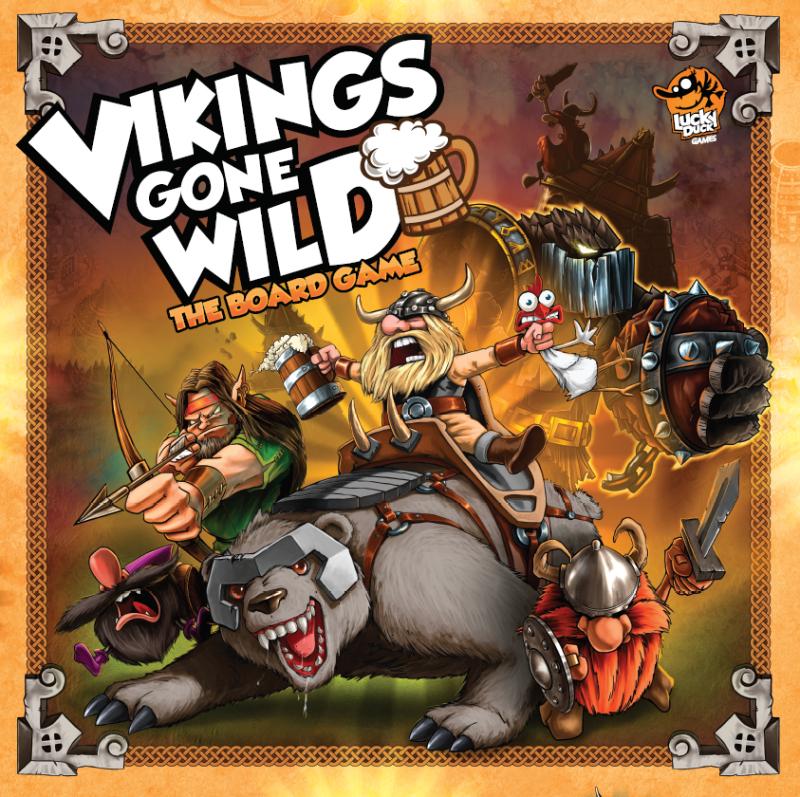 настольная игра Vikings Gone Wild Дикие викинги