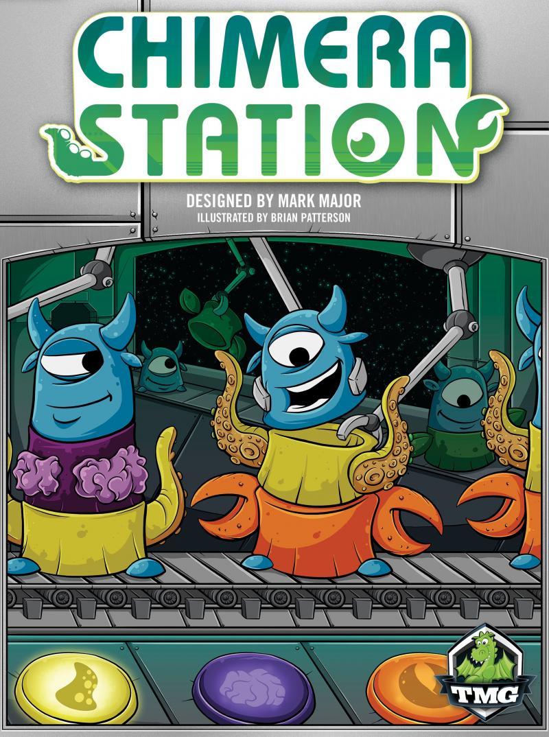 настольная игра Chimera Station Станция Химера