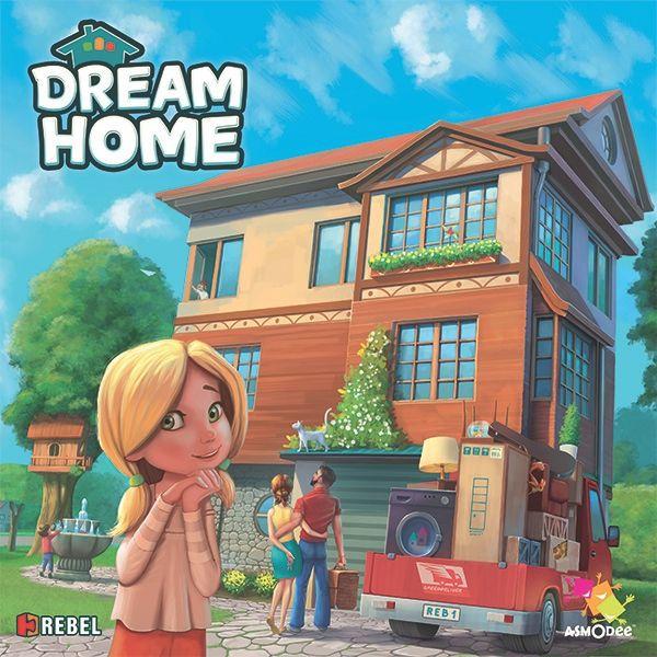 настольная игра Dream Home Дом мечты