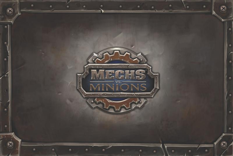настольная игра Mechs vs. Minions Мехи против Миньонов