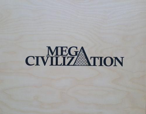 настольная игра Mega Civilization Мега Цивилизация
