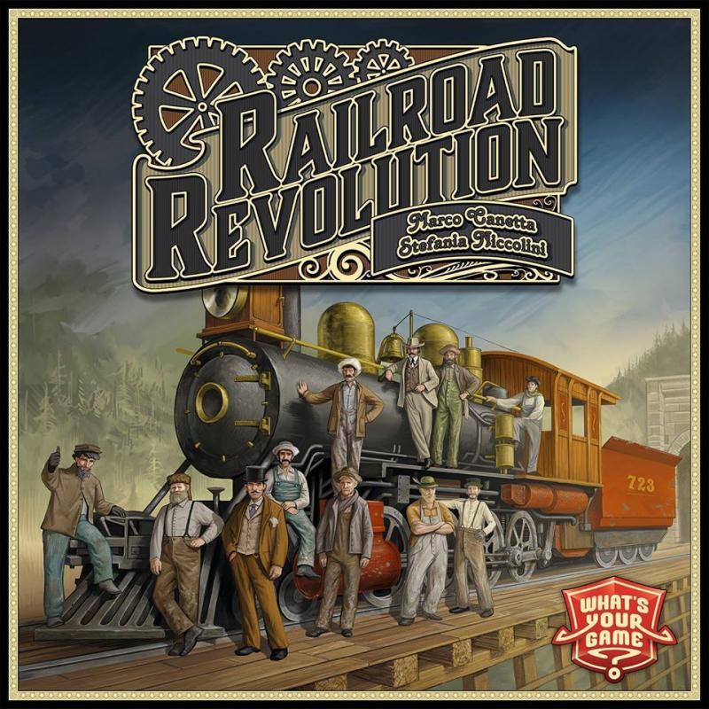 настольная игра Railroad Revolution Железнодорожная революция