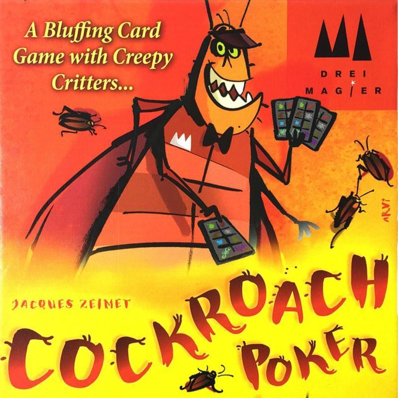 настольная игра Cockroach Poker Таракан покер