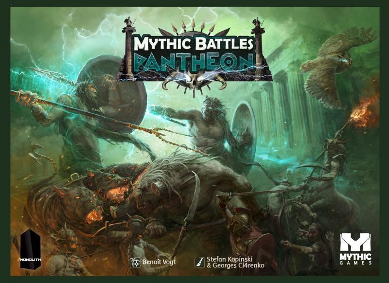настольная игра Mythic Battles: Pantheon Мифические битвы: Пантеон