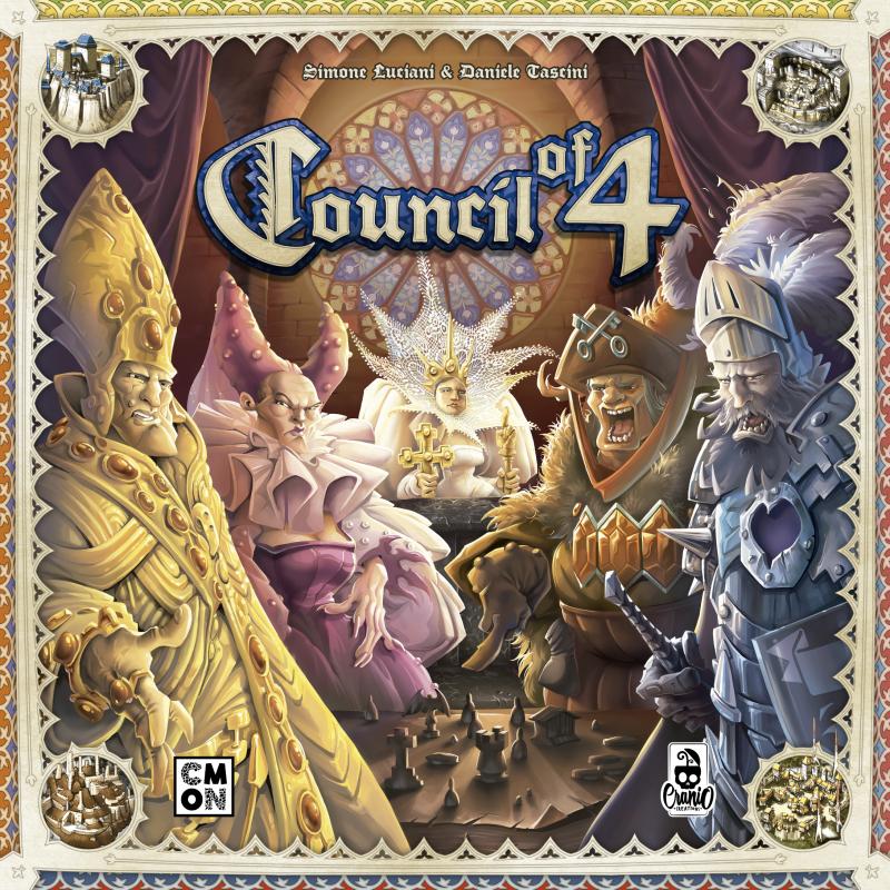 настольная игра Council of 4 Совет 4