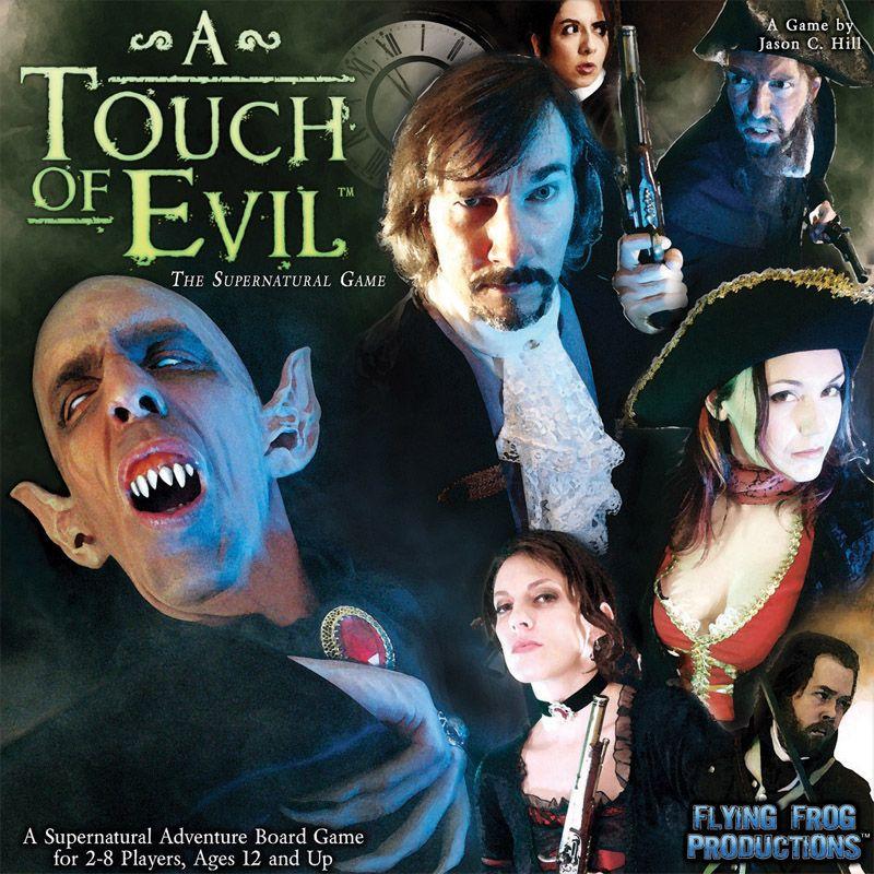 настольная игра A Touch of Evil: The Supernatural Game Прикосновение зла: сверхъестественная игра