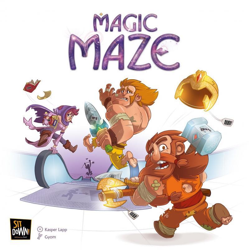 настольная игра Magic Maze Волшебный лабиринт