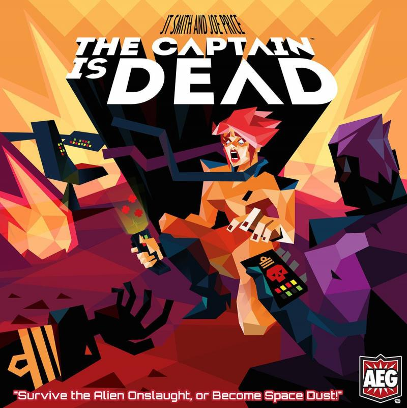 настольная игра The Captain Is Dead Капитан мертв
