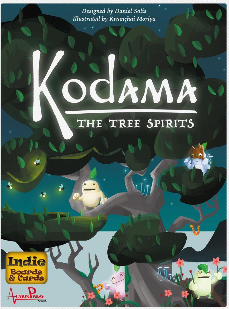 настольная игра Kodama: The Tree Spirits Кодама: духи деревьев