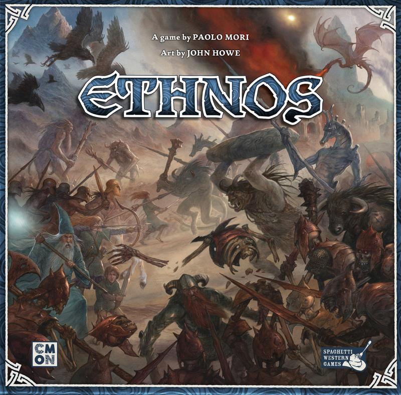 настольная игра Ethnos Этнос