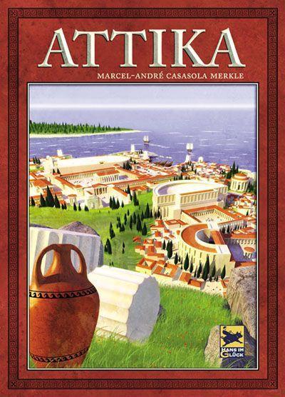 настольная игра Attika Аттика