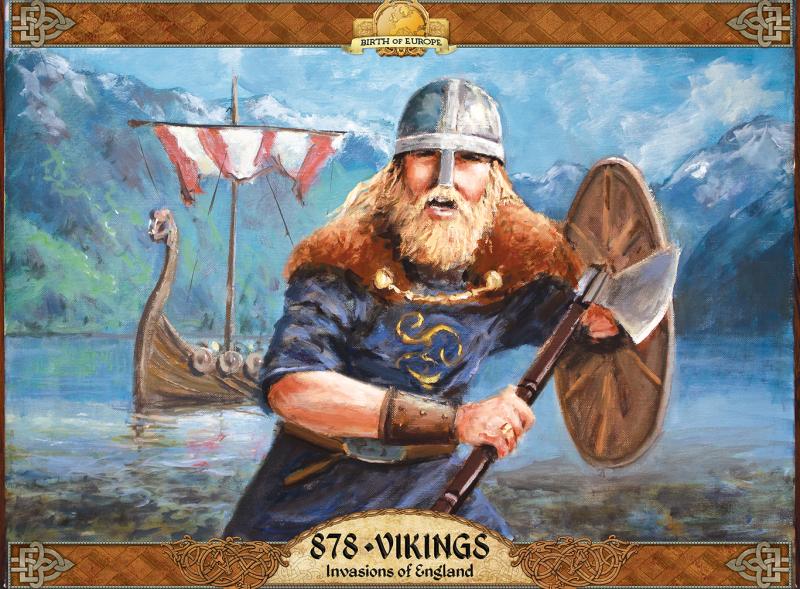 настольная игра 878 Vikings: Invasions of England 878 викингов: вторжения в Англию