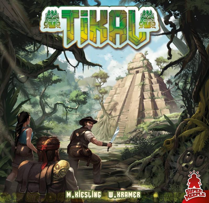 настольная игра Tikal Тикаль