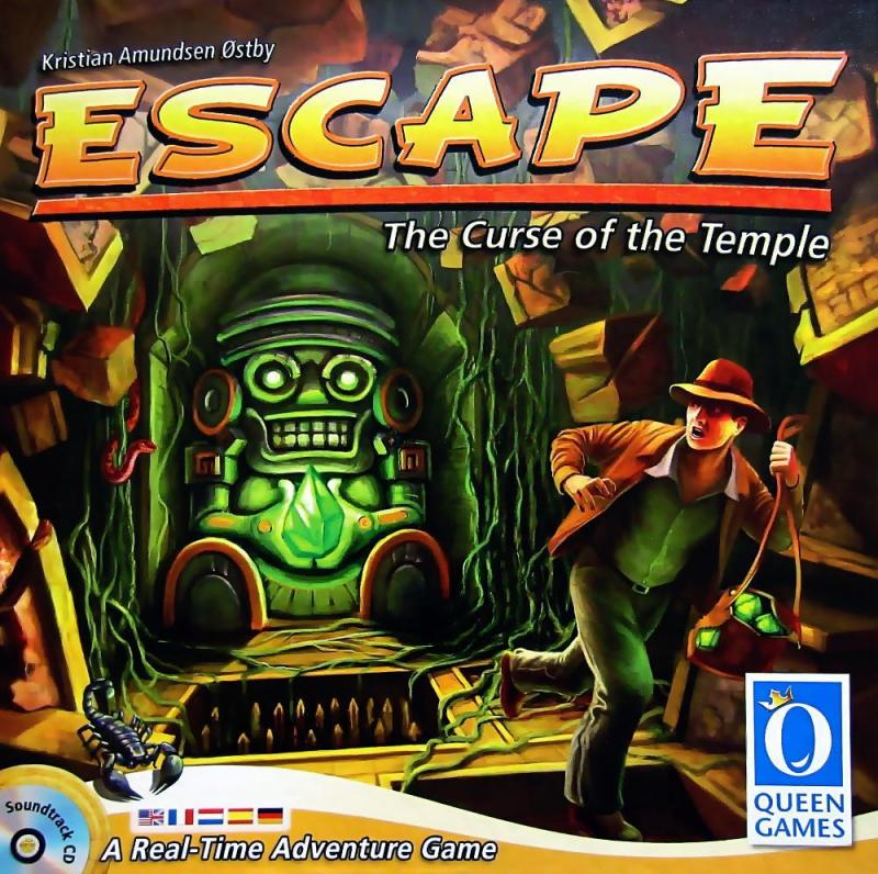 настольная игра Escape: The Curse of the Temple Побег: проклятие храма