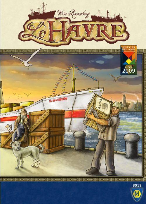 настольная игра Le Havre Гавр