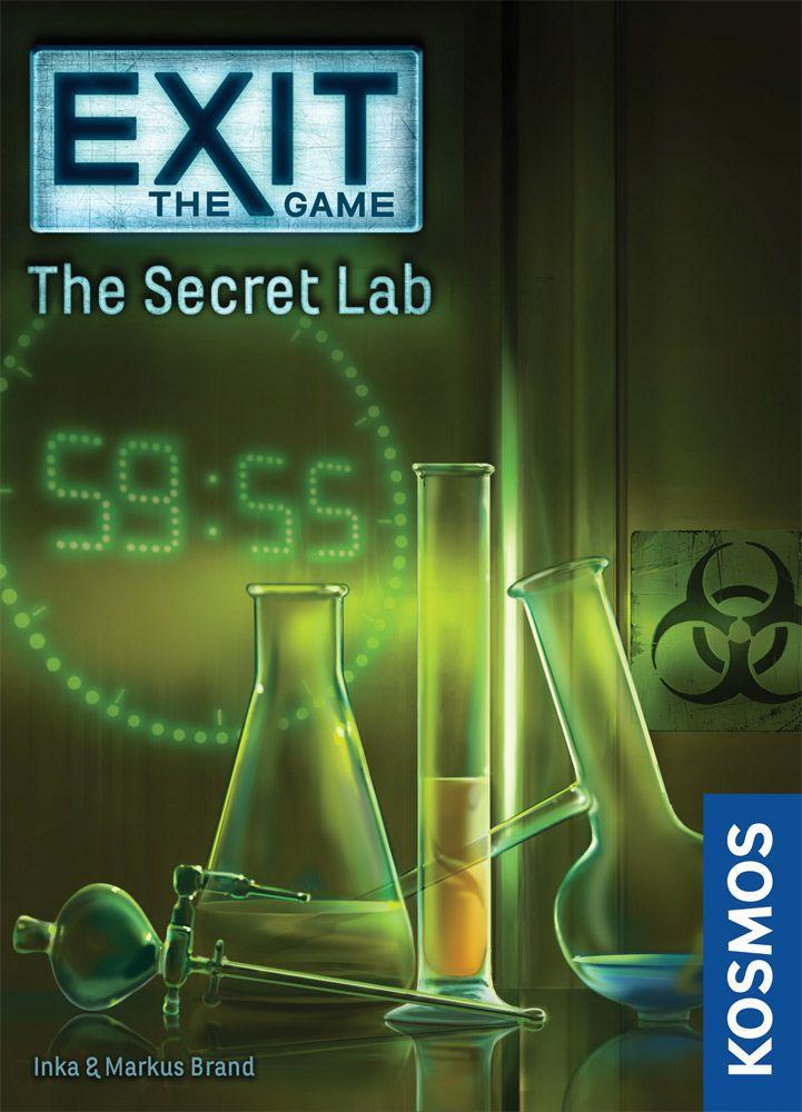настольная игра Exit: The Game – The Secret Lab Выход: Игра - Секретная Лаборатория