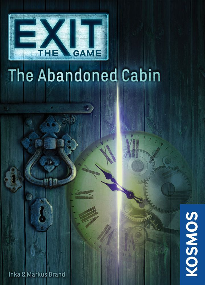 настольная игра Exit: The Game – The Abandoned Cabin Выход: Игра - Заброшенная каюта