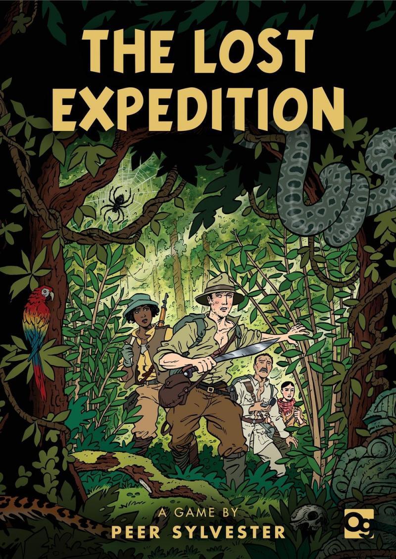 настольная игра The Lost Expedition Потерянная экспедиция