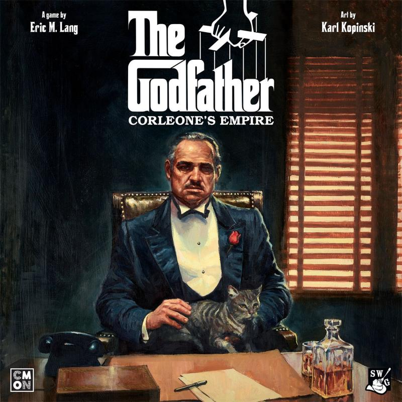 настольная игра The Godfather: Corleone's Empire Крестный отец: Империя Корлеоне