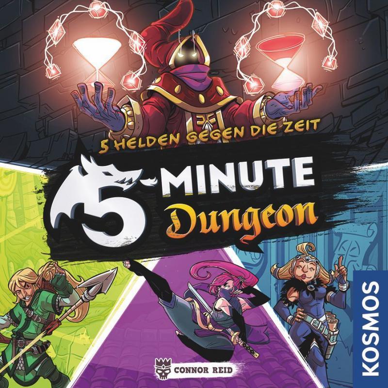 настольная игра 5-Minute Dungeon 5-минутная темница