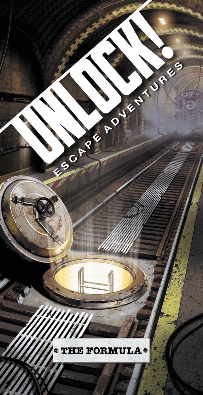 настольная игра Unlock! The Formula Открой! Формула