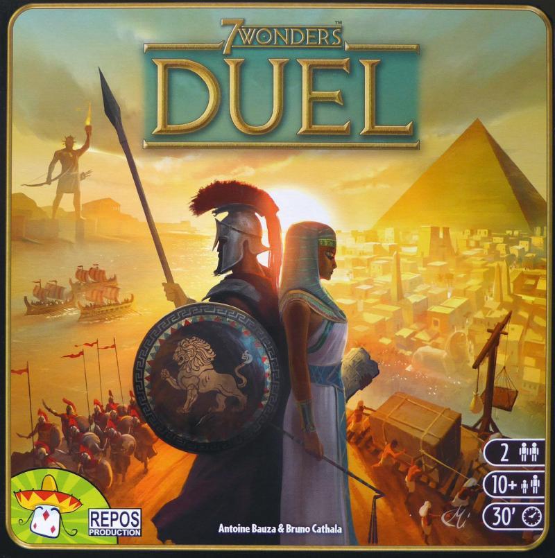 настольная игра 7 Wonders Duel
