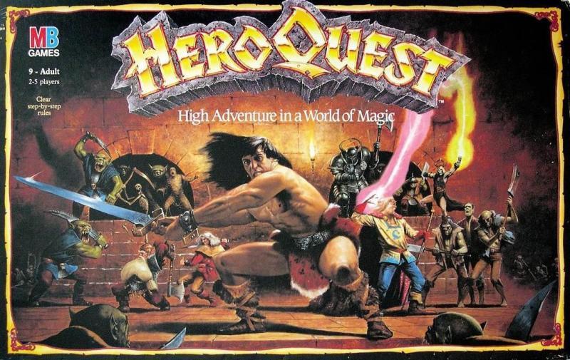 настольная игра HeroQuest