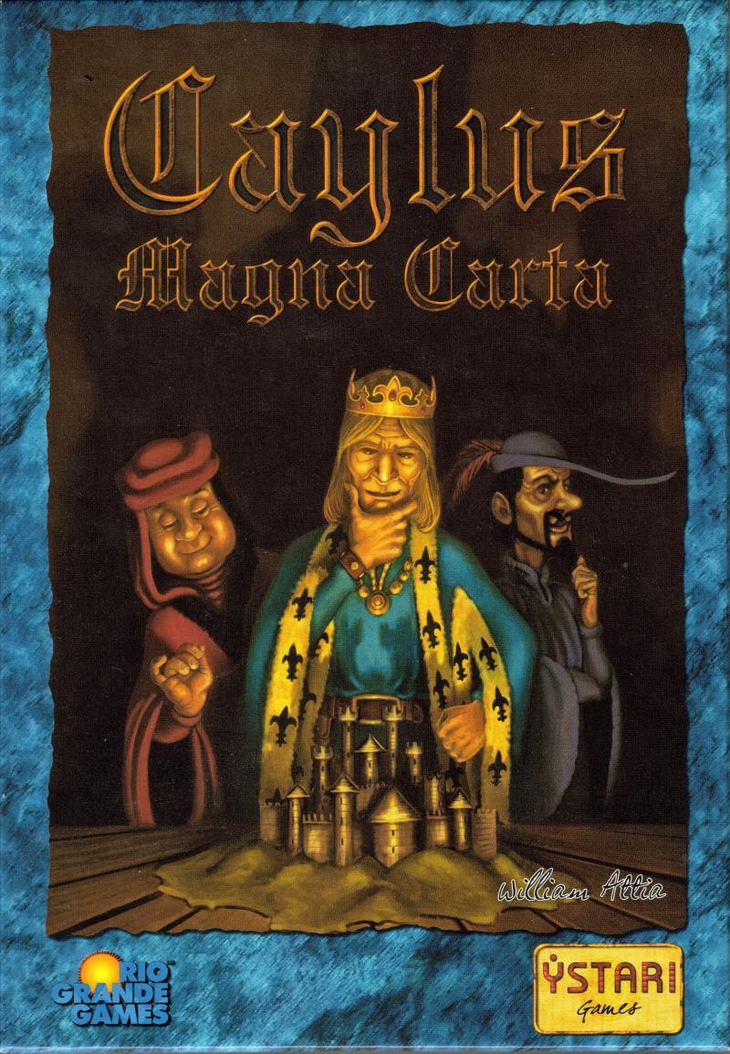 настольная игра Caylus Magna Carta