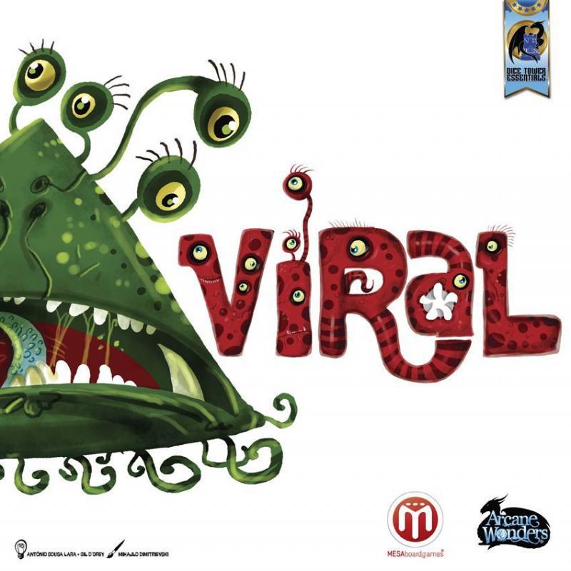 настольная игра Viral Вирусный