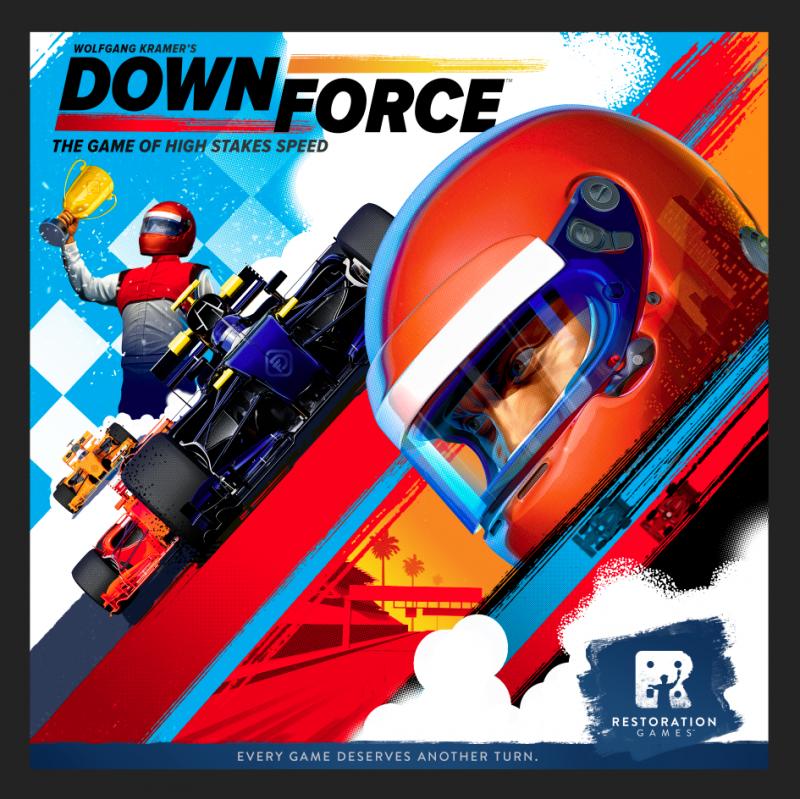 настольная игра Downforce Прижимная