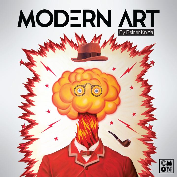 настольная игра Modern Art Современное искусство